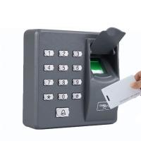 Máy kiểm soát cửa vân tay và thẻ kiểm soát ra vào độc lập X6