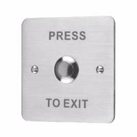 Nút nhấn Exit inox