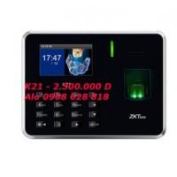 Máy chấm công ZKTECO K21