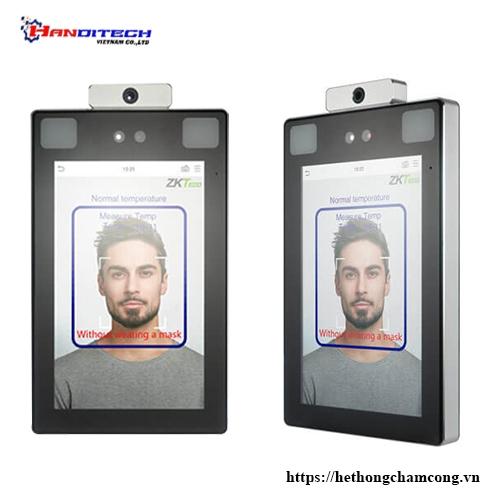 Thiết bị nhận dạng khuôn mặt & lòng bàn tay cùng với phát hiện nhiệt độ cơ thể – ProFaceX[TD]