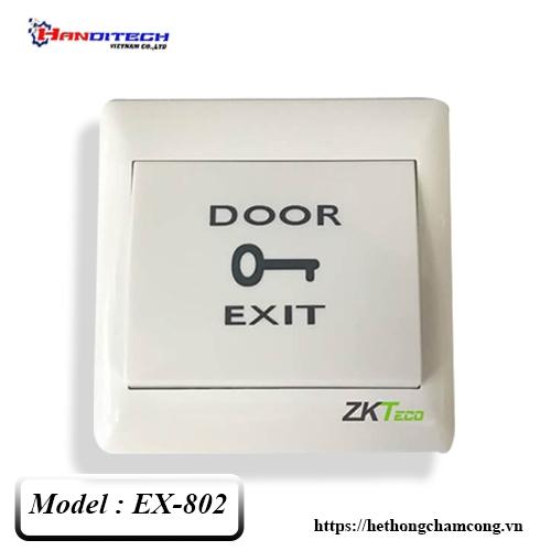 Nút nhấn Exit nhựa ZKTeco EX-802