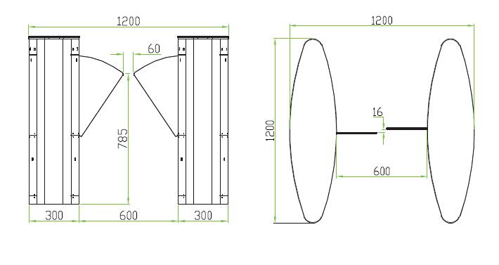 flap barrier fbl 5000